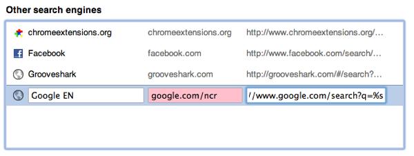 cambiando las busquedas de google.com.mx a google.com